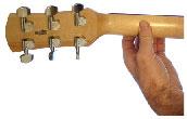 Imagen de la posicion de manos - trasera